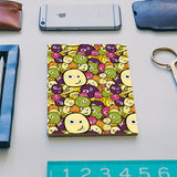 Doodle characters pattern Notebook | Artist : Designerchennai