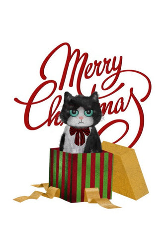 Wall Art, Grumpy Christmas Wall Art | Artist : Binoodha Sasi, - PosterGully