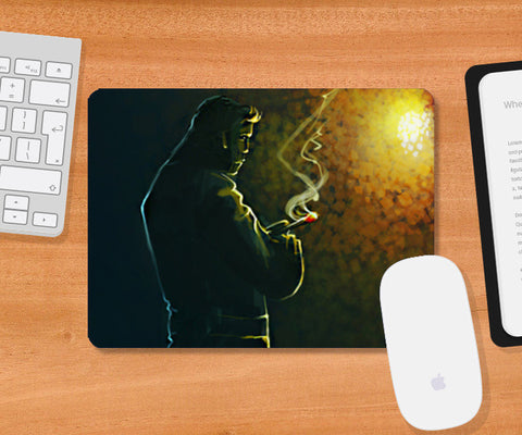 Mousepad, Thinking Mousepad | Artist: Rishi Singh, - PosterGully
