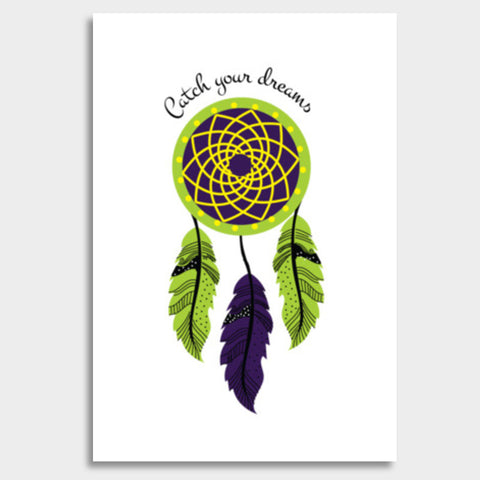 Dream Catcher  Giant Poster | Artist : Stuti Bajaj