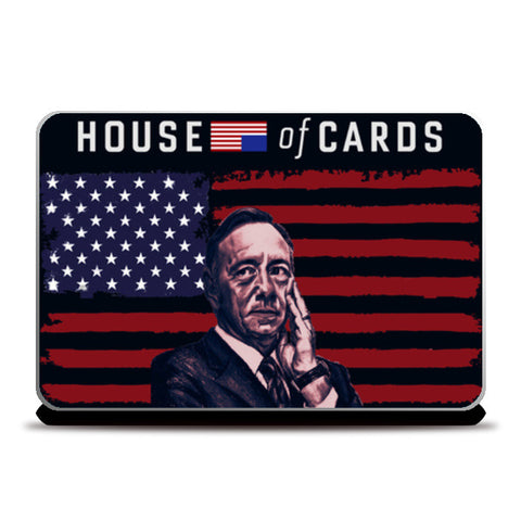 Frank Underwood - House Of Cards Laptop Skins | Artist : Aninya Gangal