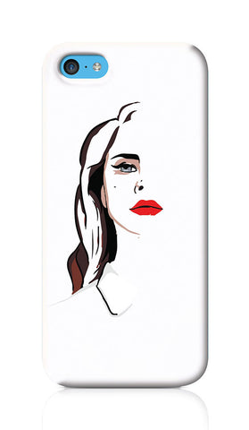 iPhone Cases, Lana Del Ray Elizabeth Grant iPhone 5C Case | Artist: Abhinav Anand, - PosterGully