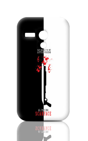 Moto G Cases, Say Hello To My Little Friend Al Pacino Moto G Case | Artist: Abhinav Anand, - PosterGully