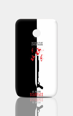 Moto E Cases, Say Hello To My Little Friend Al Pacino Moto E Case | Artist: Abhinav Anand, - PosterGully