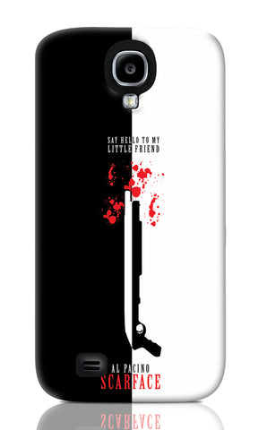 Samsung S4 Cases, Say Hello To My Little Friend Al Pacino Samsung S4 Case | Artist: Abhinav Anand, - PosterGully