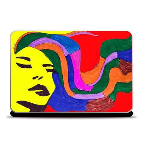 Beauty Beheld LaptopSkin Laptop Skins | Artist : Anjuri Jain