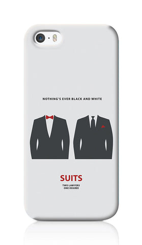 iPhone Cases, Suits Minimal Art iPhone 5/5S Case | Artist: Abhinav Anand, - PosterGully