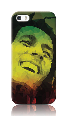 iPhone Cases, Bob Marley iPhone 5/5S Case| Artist: Abhishek Aggarwal, - PosterGully
