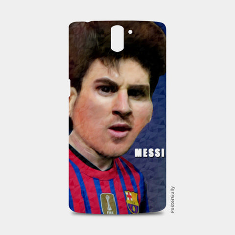 Messi Barcelona One Plus One Cases | Artist : ASHUTOSH RAI
