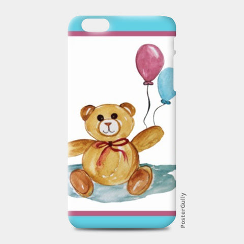 iPhone 6 Plus / 6s Plus Cases, Cute Teddy With Balloons iPhone 6 Plus / 6s Plus Cases | Artist : Singhroha Art, - PosterGully