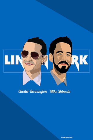 Wall Art, Linkin Park Artwork | Artist: Siladityaa Sharma, - PosterGully - 1