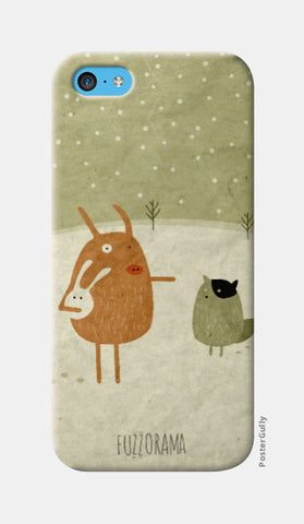 iPhone 5c Cases, Ice Age Pigs iPhone 5c Case | Artist: Alessandro Formigoni, - PosterGully