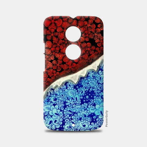 Fire and Ice!! Moto X2 Cases | Artist : Chaitanya Deepti