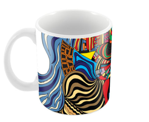 Psychedelic mania! Coffee Mugs | Artist : Jessica Maria