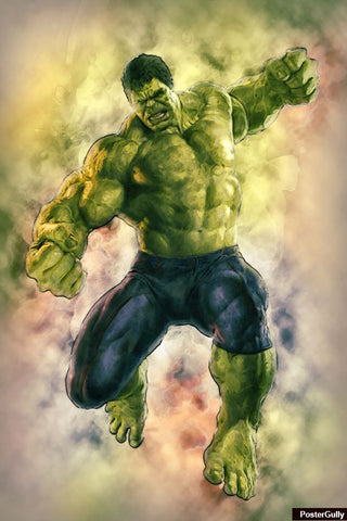 Wall Art, Hulk Avengers Artwork | Artist: Amit Kumar, - PosterGully