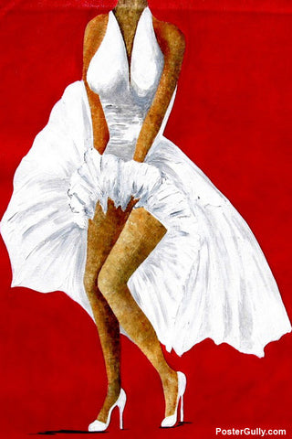 Wall Art, Seven Year Itch Acrylic Artwork | Artist: Sunanda Puneet, - PosterGully - 1