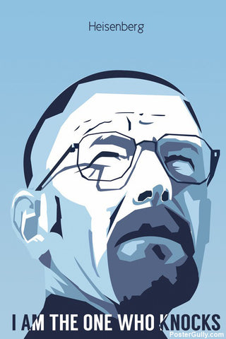 Wall Art, Breaking Bad Geometrical Artwork | Artist: Praveen Prabhakar, - PosterGully - 1