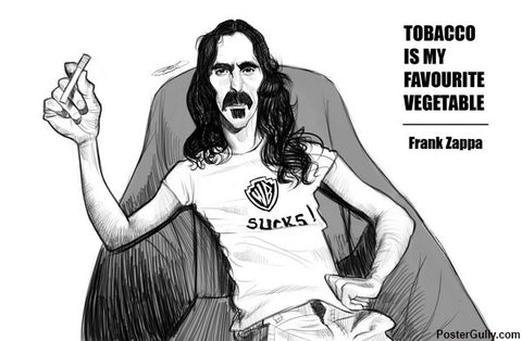 Brand New Designs, Frank Zappa Artwork | Artist: Sri Priyatham, - PosterGully - 1