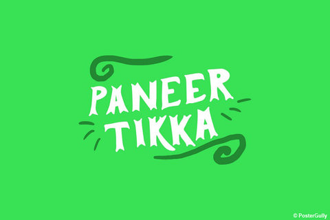 Wall Art, Paneer Tikka Food Artwork, - PosterGully - 1