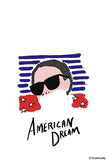 Brand New Designs, American Dream Girl Fashion Artwork, - PosterGully - 1