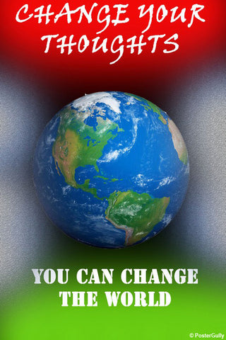 Brand New Designs, Change The World Artwork | Artist: Aishwarya Girish Menon, - PosterGully - 1