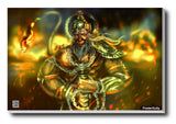 Brand New Designs, Hanuman Ji Artwork | Artist: Pankaj Bhambri, - PosterGully - 3