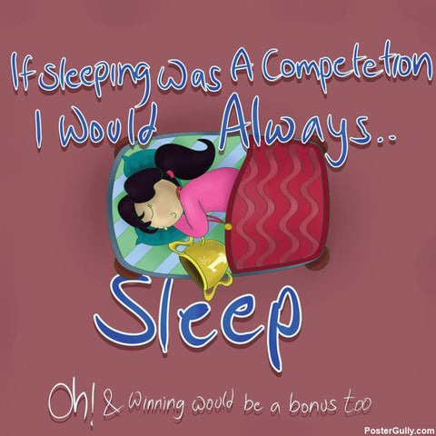 Brand New Designs, Sleeping Competition Artwork | Artist: Parakram Elisha Ram, - PosterGully