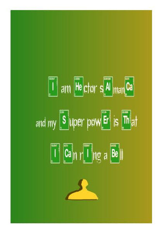 PosterGully Specials, What is your superpower : Breaking bad Wall Art | Artist : Keshava Shukla, - PosterGully