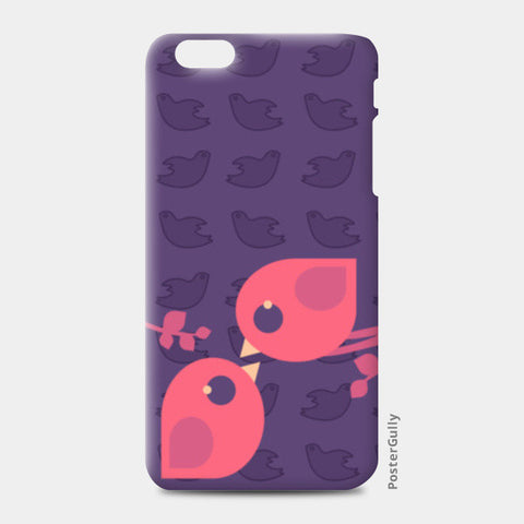 Love Birds iPhone 6 Plus/6S Plus Cases | Artist : Naiya Parkash