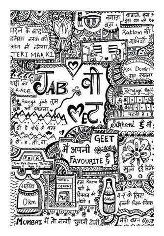 Jab we met Wall Art | Artist : Himani Chhabra