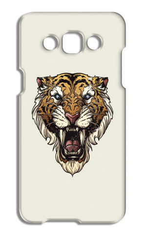 Saber Toothed Tiger Samsung Galaxy A5 Cases | Artist : Inderpreet Singh