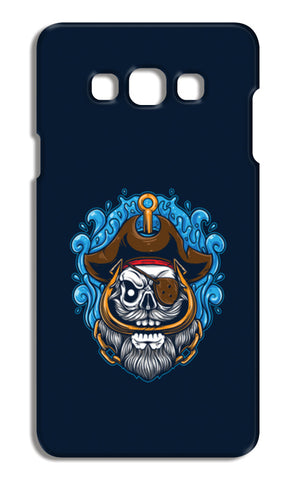 Skull Cartoon Pirate Samsung Galaxy A7 Cases | Artist : Inderpreet Singh