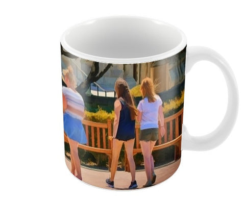 Friends forever Coffee Mugs | Artist : Anil Kumar K