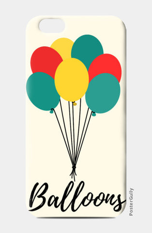 Colorful Balloons iPhone 6/6S Cases | Artist : Ankita Sharma