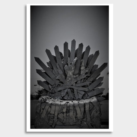 Iron Throne | Clay Art | Photograph Giant Poster | Artist : Nandini Rawat