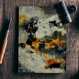 abstract 778855 Notebook | Artist : pol ledent