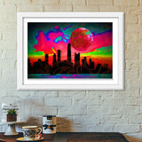Wonder Night Premium Italian Wooden Frames | Artist : Tiny Dots