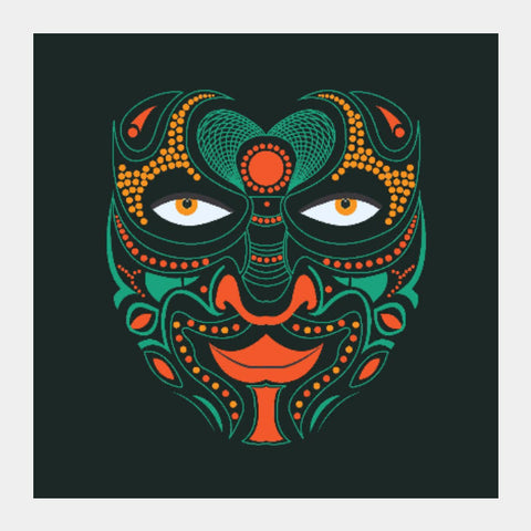 Square Art Prints, Uttama Villain Square Art | Piyush Singhania, - PosterGully