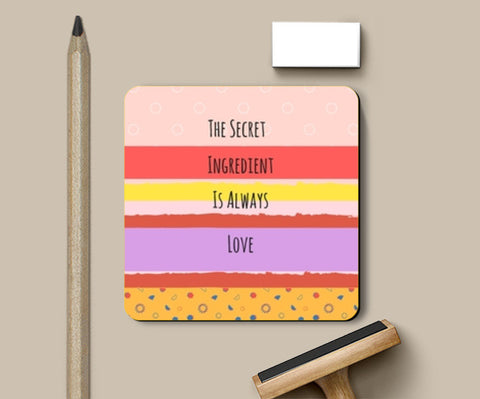 PosterGully Coasters, The secret Ingredient Coasters | Artist : Pallavi Rawal, - PosterGully