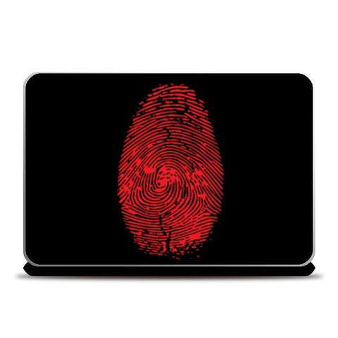 Laptop Skins, FINGERPRINT Laptop Skins | Artist : Sonia Punyani, - PosterGully