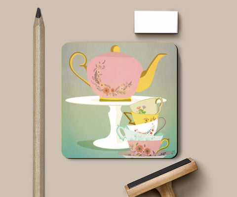 Coasters, High Tea Collection Coasters | Artist : Sanyukta bhatnagar, - PosterGully