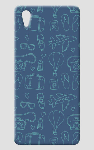 Sketchy Travel One Plus X Cases | Artist : Colour me expressive