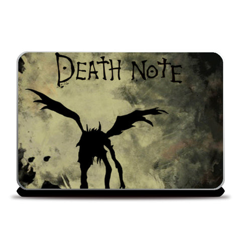 Death Note Laptop Skins | Artist : BY Darakhsha Dandekar and Karan Mehta