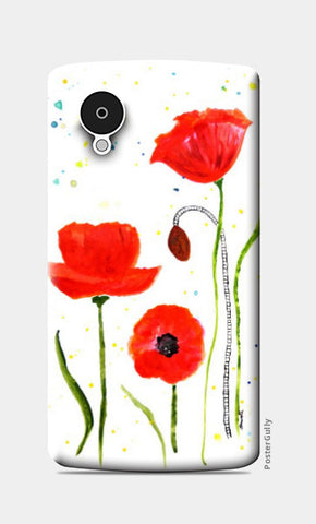 Nexus 5 Cases, Floral Nexus 5 Case | Shweta D, - PosterGully