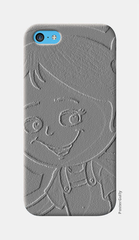3D Cute Girl iPhone 5c Cases | Artist : ashman's