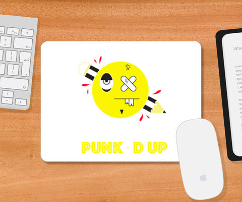 punked up Mousepad | Artist : Shantanu Kumar