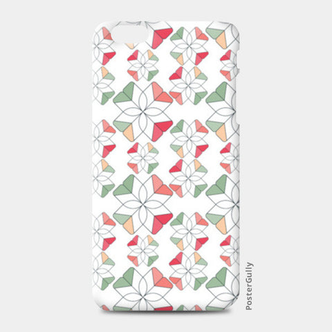 Flowers Retro Shapes Geometric Pattern iPhone 6 Plus/6S Plus Cases | Artist : Designerchennai