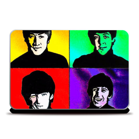 Laptop Skins, The Beatles 2 Laptop Skin | Pritika Uppal, - PosterGully
