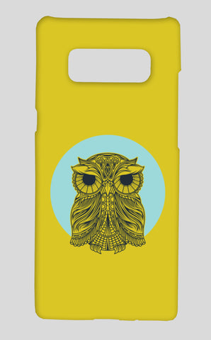 Owl Samsung Galaxy Note 8 Cases | Artist : Inderpreet Singh