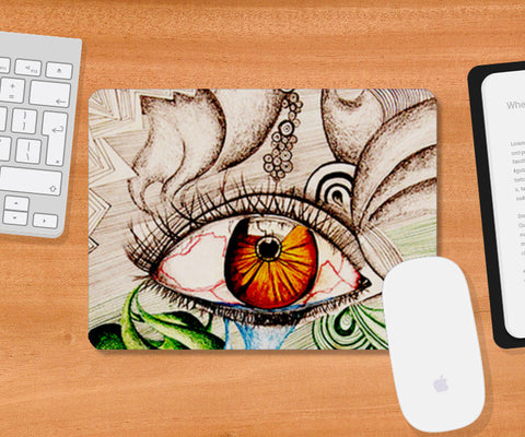 I am Watching you! Mousepad | Artist : Its ZentTangleD
